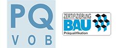 PQ VOB Zertifizierung Bau