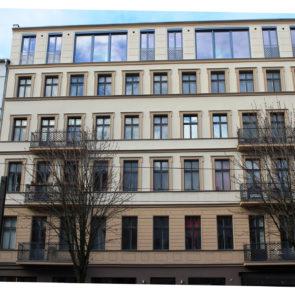 Renovierung Fassade und Innenbereiche Berlin Kastanienallee 29-30 (2016)