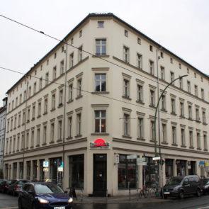 Renovierung Fassade und Innenbereich Berlin Linienstraße/ Rosenthaler Str. (2014)