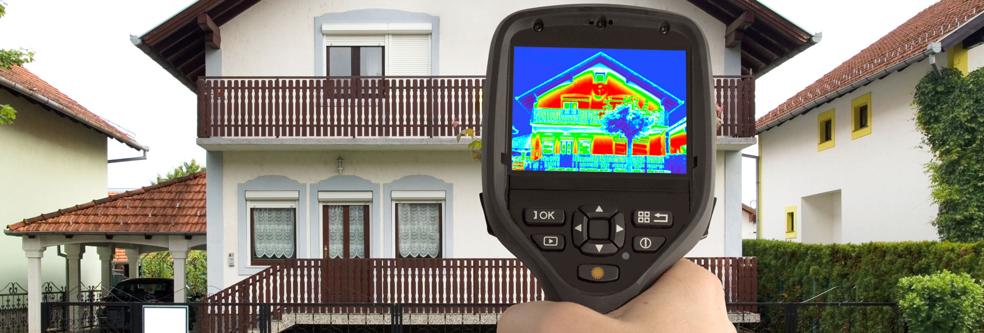 energetische Gebäudesanierung sichert und minimiert den Energieverbrauch